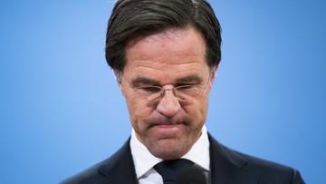 Rząd Holandii podał się do dymisji. W tle afera z zasiłkami na dzieci