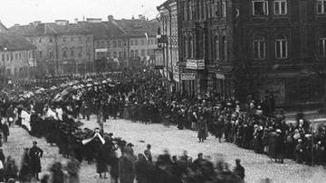 Wiosna 1919 r. Stan graniczny