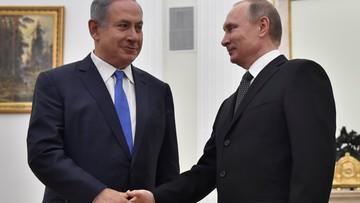 Netanjahu w Moskwie: Izrael nigdy nie odda Wzgórz Golan