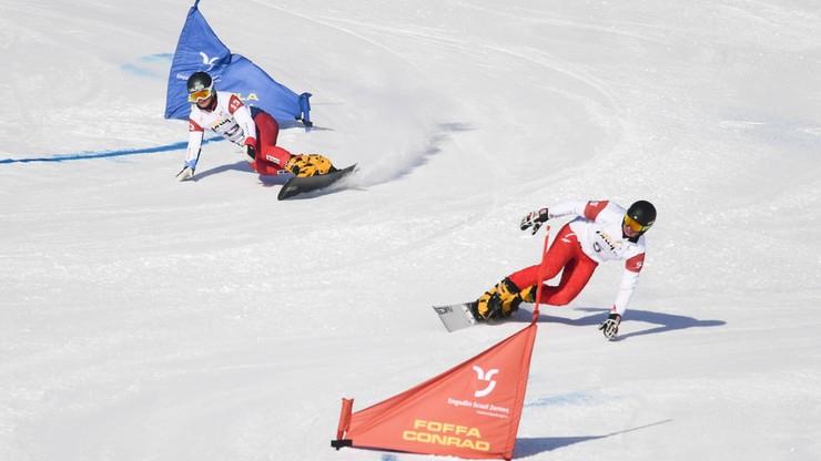 PŚ w snowboardzie: Oskar Kwiatkowski w czołówce giganta równoległego