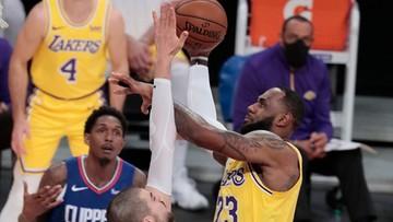 NBA: Broniący tytułu Lakers sezon zaczęli od porażki. Derby Los Angeles dla Clippers