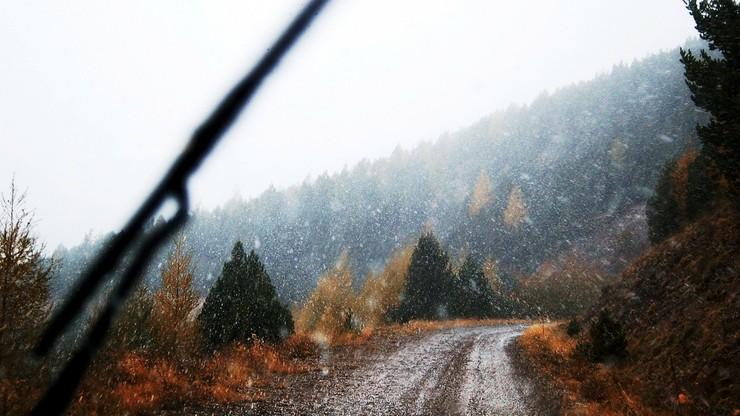 Śnieg i niewielki mróz. Pogoda na weekend
