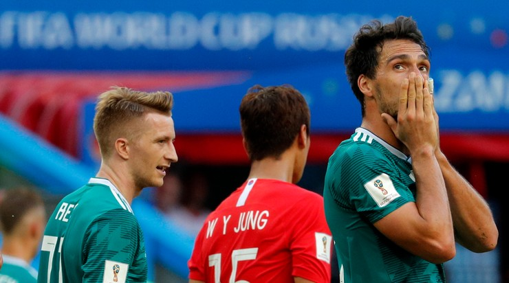 MŚ 2018: Niemcy jadą do domu po porażce z Koreą Południową