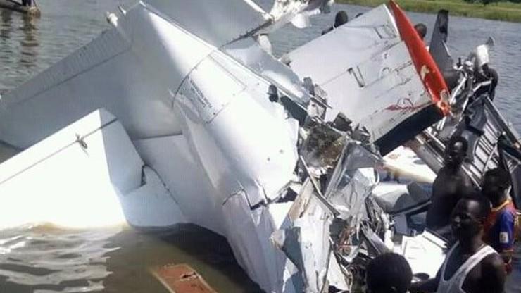 Katastrofa samolotu w Sudanie Południowym. Maszyna wpadła do jeziora