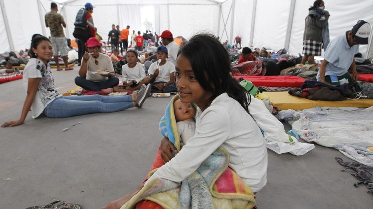 Ponad 3 tys. migrantów z Ameryki Środkowej złożyło wnioski o azyl w Meksyku