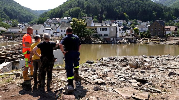 Niemcy: miliardy euro strat po powodziach. Co najmniej 170 osób zginęło