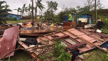 Potężny cyklon spustoszył Fidżi
