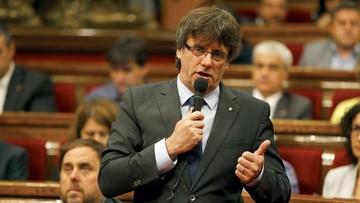 Katalonia zmierza do niepodległości. Parlament przeciwstawia się Trybunałowi Konstytucyjnemu