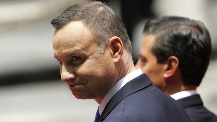 Konsul honorowy w Meksyku nie przyjął orderu od prezydenta Dudy
