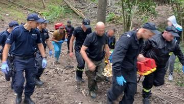 73-latek błąkał się po lesie prawie przez dwie doby
