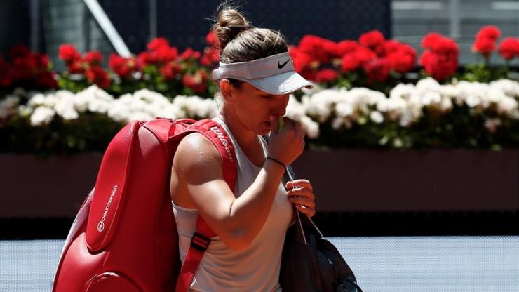 WTA w Madrycie: Porażka Halep, Rosolska odpadła w deblu
