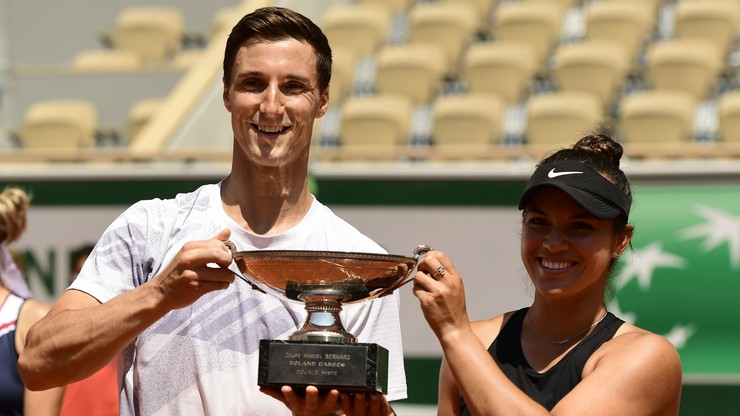 Roland Garros: Desirae Krawczyk i Joe Salisbury triumfowali w grze mieszanej