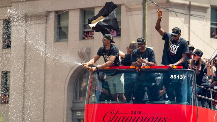 NBA: Ponad milion osób fetowało w Toronto mistrzostwo Raptors