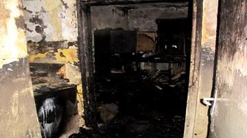 Pożar mieszkania w Krakowie. Nie żyją dwie osoby