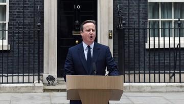 Cameron: nie żałuję zarządzenia referendum w sprawie członkostwa w UE