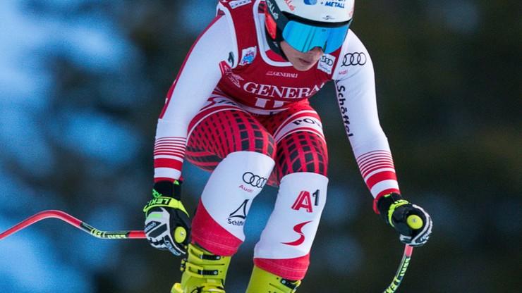 Alpejski PŚ: Schmidhofer wygrała zjazd w Lake Louise