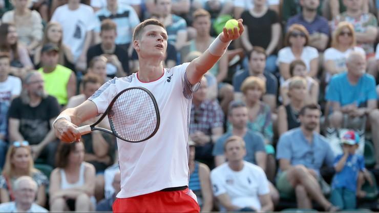 ATP w Eastbourne: Zmarnowana szansa Hurkacza. Polak odpadł z turnieju
