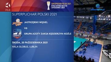 Jastrzębski Węgiel - Grupa Azoty ZAKSA Kędzierzyn-Koźle 3:0. Skrót meczu