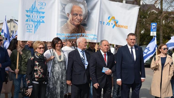 Płońsk inauguruje świętowanie 70. rocznicy powstania Izraela. Przed domem jego pierwszego premiera