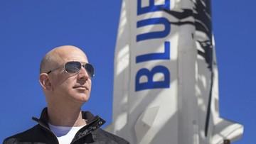 28 mln dol. za lot w kosmos z Jeffem Bezosem