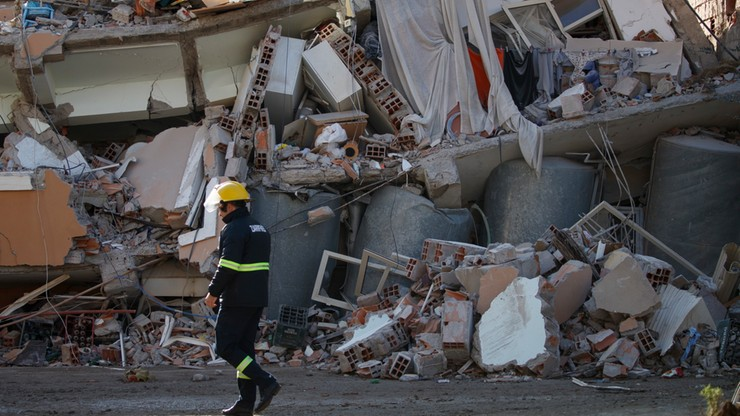 Albania: kolejne ofiary trzęsienia ziemi