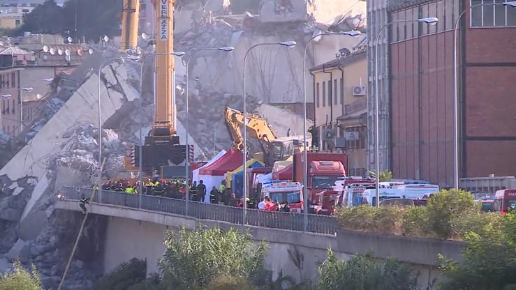 Oficjalnie zakończono poszukiwania zaginionych w Genui. Bilans katastrofy: 43 ofiary