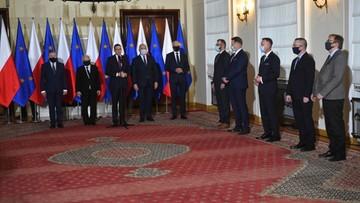Premier ogłosił nazwiska ministrów [CAŁE WYSTĄPIENIE]