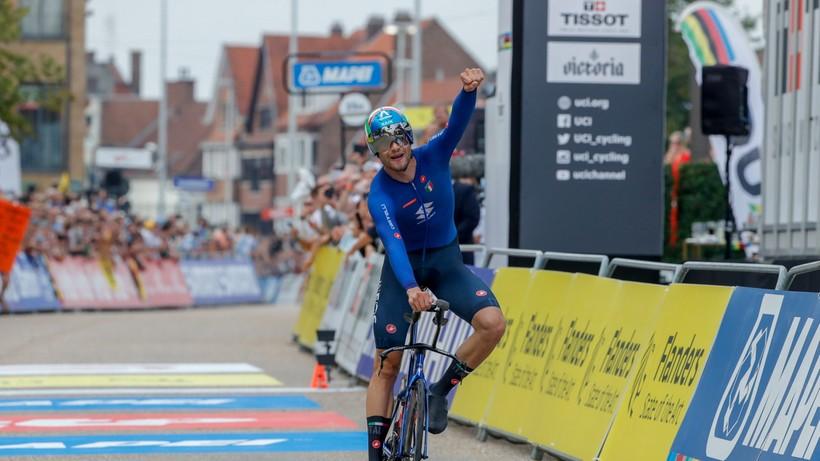 MŚ w kolarstwie: Filippo Ganna ponownie najlepszy w jeździe indywidualnej na czas