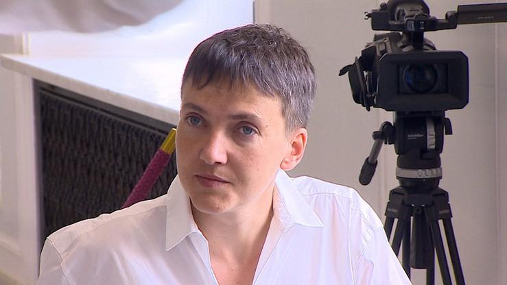 """""""Cieszymy się, że jest pani z nami, na wolności."""" Sawczenko w polskim Sejmie"""