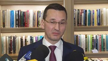 """""""Przeszedł z PRL do III RP suchą nogą bez głębszej transformacji"""". Morawiecki o systemie sądowniczym"""
