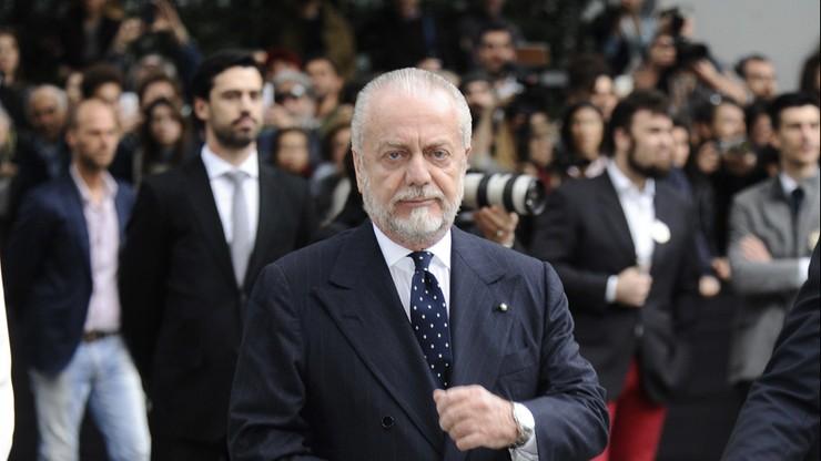 Aurelio De Laurentiis ma koronawirusa. W środę spotkał się z prezesami Serie A