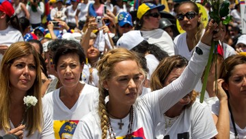 Gwałtowne antyrządowe protesty w Wenezueli. Na ulice wyszły kobiety
