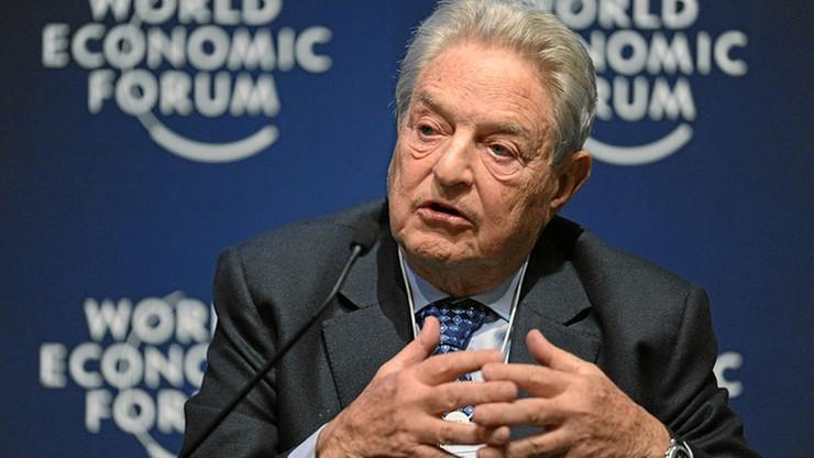 """George Soros """"człowiekiem roku 2018"""" według """"Financial Timesa"""". """"Orędownik demokracji liberalnej"""""""