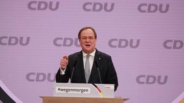 Nowy szef CDU. Armin Laschet może zostać kolejnym kanclerzem Niemiec