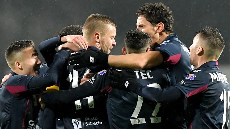 Pogoń Szczecin wygrała siódmy mecz z rzędu na własnym boisku