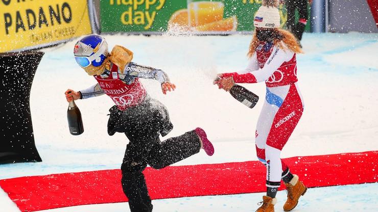Alpejski PŚ: Ester Ledecka najlepsza w supergigancie w Val d'Isere