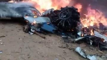 Katastrofa lotnicza w Kolumbii. Samolot rozbił się podczas próby awaryjnego lądowania