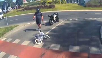 Potrącił 6-latkę i odjechał. Internauci pomogli odnaleźć motocyklistę