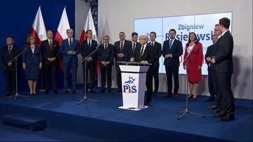 Kaczyński ogłosił kandydatów PiS na prezydentów miast. W Warszawie wystartuje Jaki