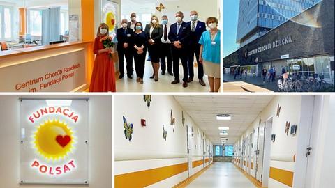 Otwarto Centrum Chorób Rzadkich im. Fundacji Polsat
