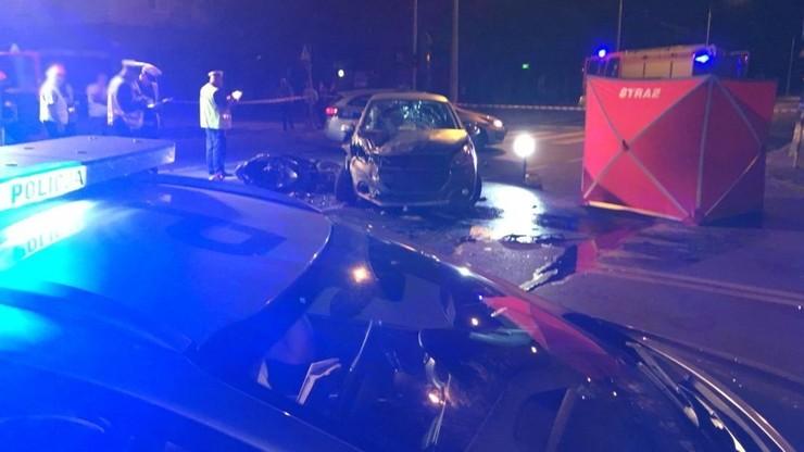 Mężczyzna na skuterze uderzył w skręcające auto. Nie miał szans. Tragiczny wypadek w Częstochowie