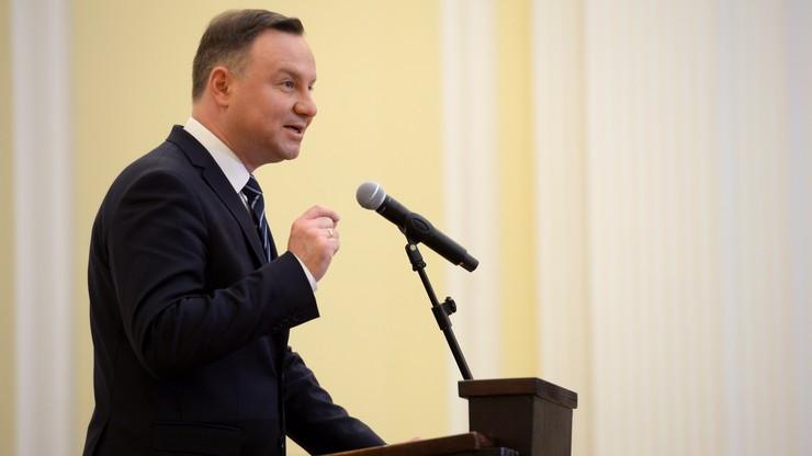 Duda w liście do Trumpa: Polskę i USA łączą więzi przyjaźni i poszanowanie wzajemnych interesów