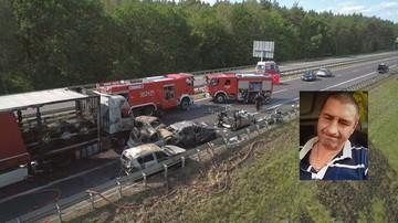 Bohater z Ukrainy nie wahał się wyciągać ludzi z aut płonących po wypadku na A6. Uratował trzy osoby
