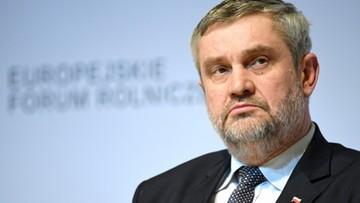 Ardanowski: żywność produkowana w Polsce jest bezpieczna