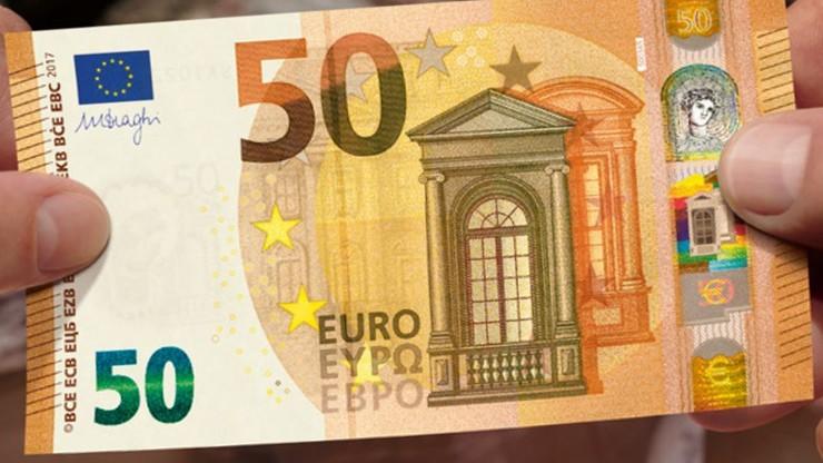 Nowe 50 euro w obiegu. Lepiej zabezpieczone i wegańskie
