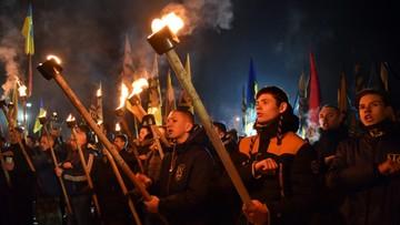 """""""Miasto Lwów nie dla polskich panów"""". Marsz pod antypolskimi hasłami na Ukrainie"""