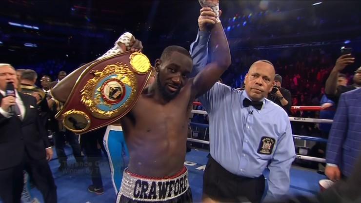 Pewna wygrana Crawforda przed czasem