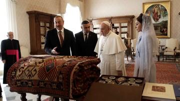 Papież dostał nietypowy prezent od prezydenta Azerbejdżanu