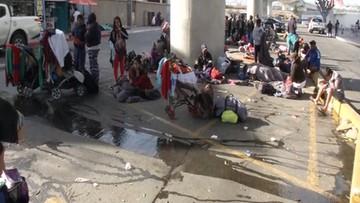 """Władze meksykańskiej Tijuany nie radzą sobie z migrantami. """"Kryzys humanitarny"""""""
