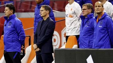 Porażka Holandii w debiucie trenera Franka de Boera